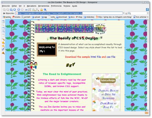 Captura de pantalla de la web evaluada - Falso Positivo