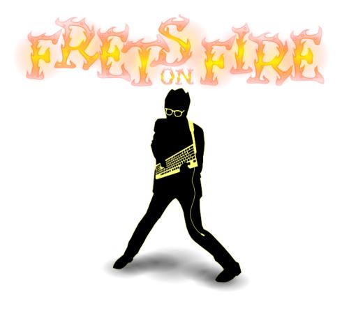 logotipo de frets on fire
