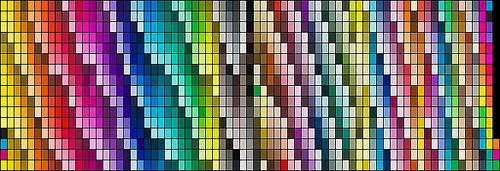 Paleta de colores Pantone